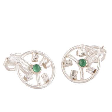 gemelli in argento e smeraldi.pg