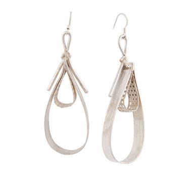 orecchini in argento a goccia